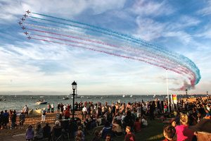 red arrows cowes