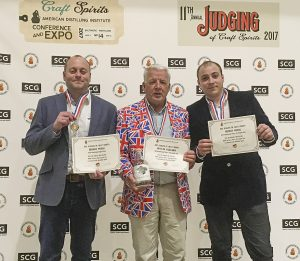 Isle of Wight Distillery at the 2017 ADI awards in Baltimore USA